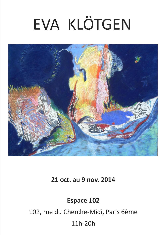Affiche A3 Eva Klötgen Cherche Midi